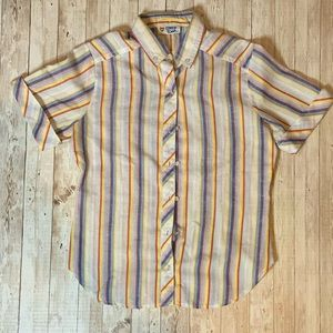Vintage College Town Button Down Tee